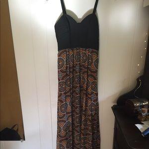 Forever21 Contemporary Maxi Dress